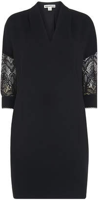 Whistles Paige Lace Sleeve Dress