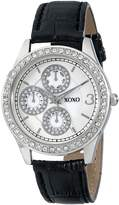 XOXO Women's Leather Strap Watch XO3042