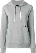 Stussy logo embellished hoodie