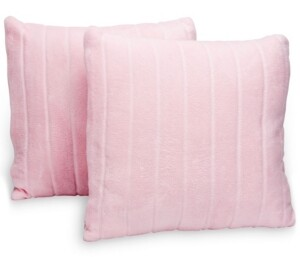"""Cheer Collection Striped 18""""x18"""" Throw Pillow"""