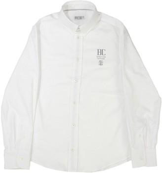 Brunello Cucinelli Comfort Cotton Oxford Shirt With Button-down Collar