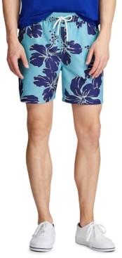 Polo Ralph Lauren Men's Big & Tall Traveler Swim Trunks