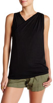 David Lerner Twisted Knit Tank