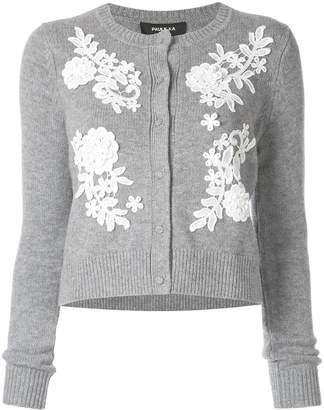 Paule Ka floral lace cardigan