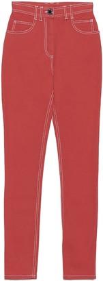 Balmain Embroidered Logo Skinny Denim Jeans