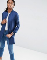 Asos Soft Luxe Longline Bomber