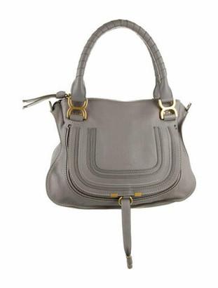 Chloé Medium Marcie Shoulder Bag Grey