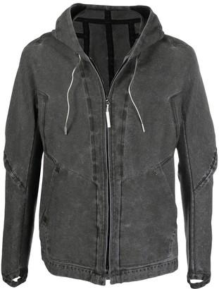 Isaac Sellam Experience Denim Hooded Jacket