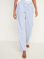 Old Navy Printed Poplin Pajama Pants for Women