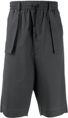 Marcelo Burlon County of Milan Knee-Length Cargo Shorts