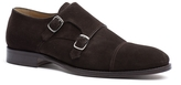Tommy Hilfiger Tailored Collection Suede Monk Strap Shoe
