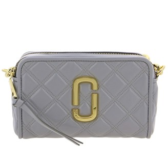 Marc Jacobs Shoulder Bag In Quilted Leather With Paperclip