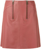 Talie Nk - leather skirt - women - Leather - 34