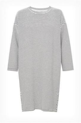 Great Plains Orla Ottoman Stripe Long Sleeve Dress
