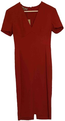 Stella McCartney Red Synthetic Dresses