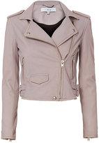 IRO Ashville Cropped Leather Jacket