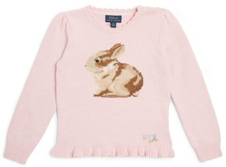 Ralph Lauren Kids Knitted Bunny Sweater (2-4 Years)