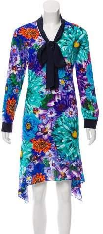 Mary Katrantzou Silk Midi Dress w/ Tags