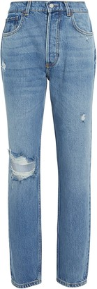 Boyish Billy Distressed High-Rise Jeans