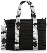 Think Royln Wingman Camo-Trim Quilted Tote