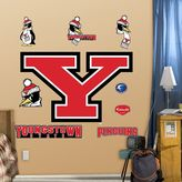 Fathead Youngstown State Penguins Logo Wall Decals