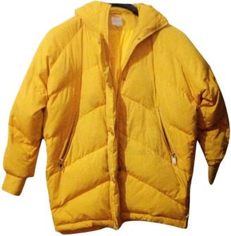 Silvian Heach Yellow Polyester Coats