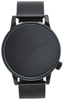 Komono Men's 'Winston' Round Dial Strap Watch, 40Mm