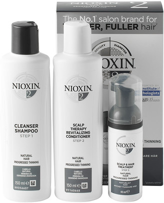 Nioxin System 2 Trial Kit for Natural Hair with Progressed Thinning