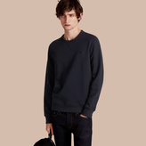 Burberry Cotton Blend Jersey Sweatshirt