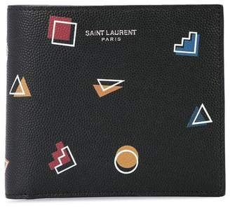Saint Laurent retro shapes wallet