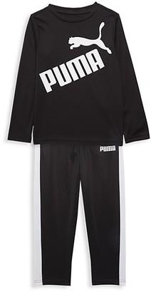 Puma Little Kid's 2-Piece Top Pant Logo Set