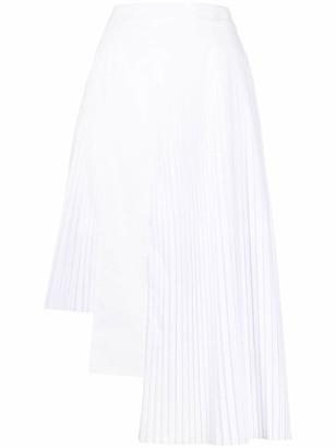 Each X Other Hybrid pleated skirt