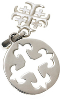Sterling Silver Cathedral Jerusalem Cross Charm by Cynthia Gale