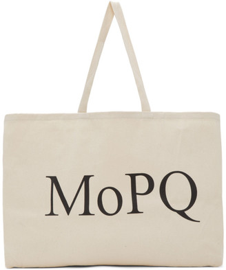 Museum of Peace and Quiet Off-White MoPQ Tote
