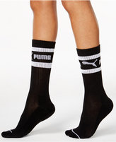 Puma Women's Mid-Length Terry Tube Socks