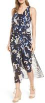 Nic+Zoe Shadow Bloom Midi Dress (Regular & Petite)