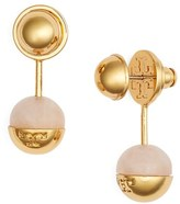 Tory Burch Logo Ball Ear Jackets