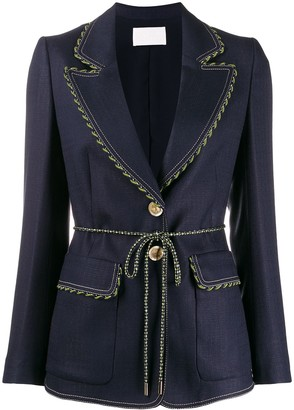 Peter Pilotto Rope Seam Blazer
