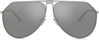 Dolce & Gabbana Eyewear Slim Aviator Sunglasses