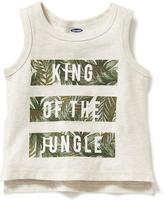 Old Navy Jungle Graphic Tank for Baby