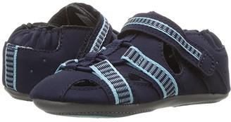 Robeez Beach Break Mini Shoez Infant/Toddler) (Navy) Boy's Shoes