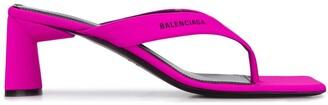 Balenciaga Double Square 60mm sandals