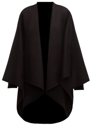 Joseph Wool-blend Poncho - Womens - Black
