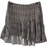 Free People Black Polyester Skirts
