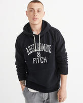 Abercrombie & Fitch Heritage Logo Fleece Pullover