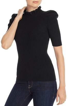 Aqua Lace-Trim Puff-Sleeve Cashmere Sweater - 100% Exclusive