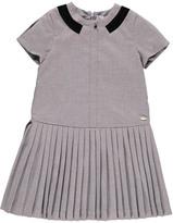 Tartine et Chocolat Pleated Flannel Dress