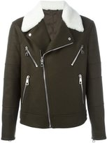 Neil Barrett multi-pocket biker jacket