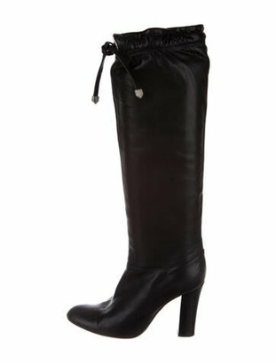 Marc Jacobs Leather Boots Black
