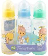 """Luv N Care Luv N' Care Precious Moments """"Angel Boys"""" 3-Pack Bottles"""